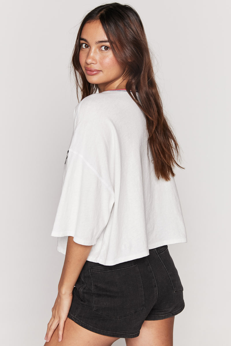 CHOOSE JOY SESSIONS CROP TEE