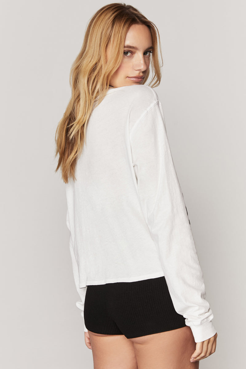 PEACE LOVE LIGHT LONG SLEEVE TEE