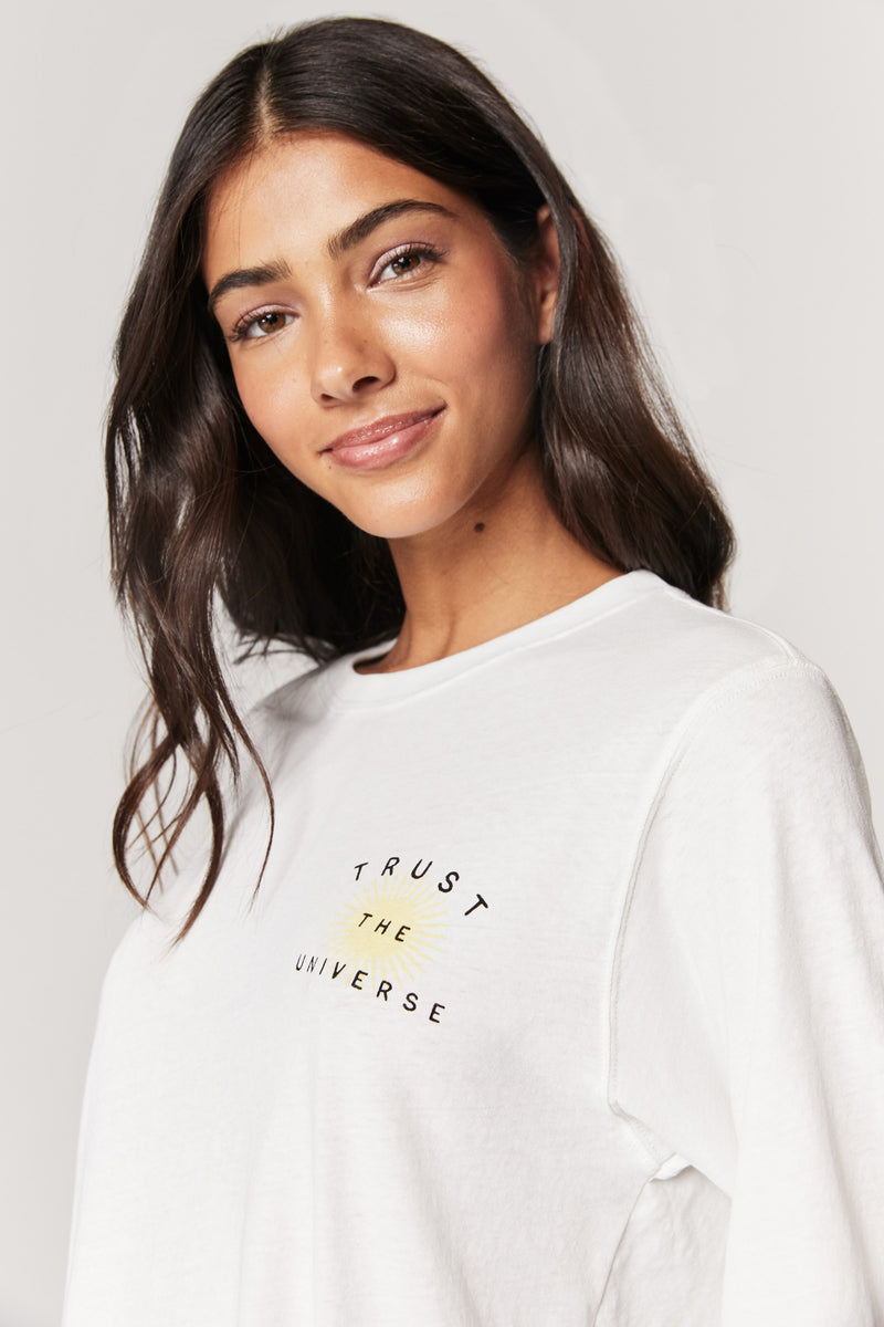 UNIVERSE BROOKE LONG SLEEVE TEE