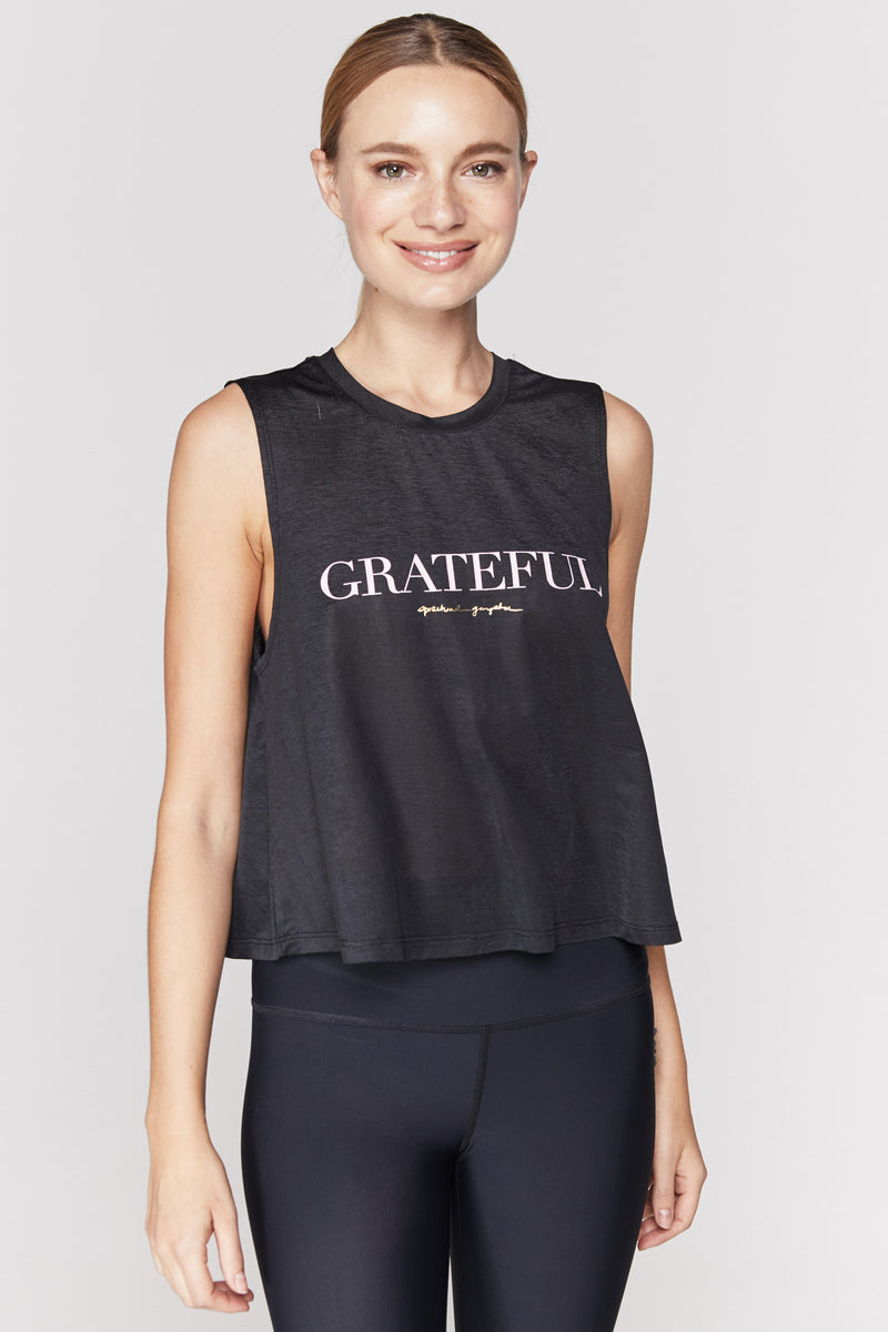 GRATEFUL ACTIVE CROP TANK