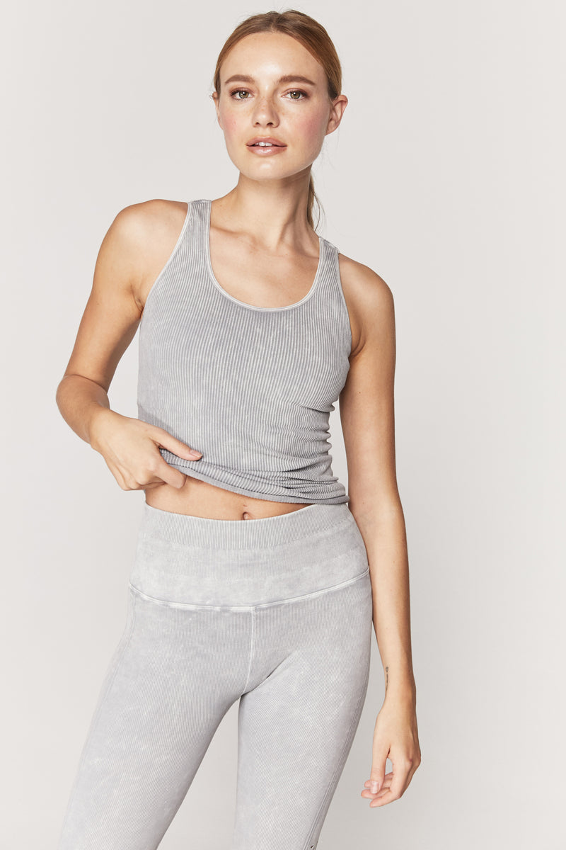 Amor Seamless Active Tank Heather Grey