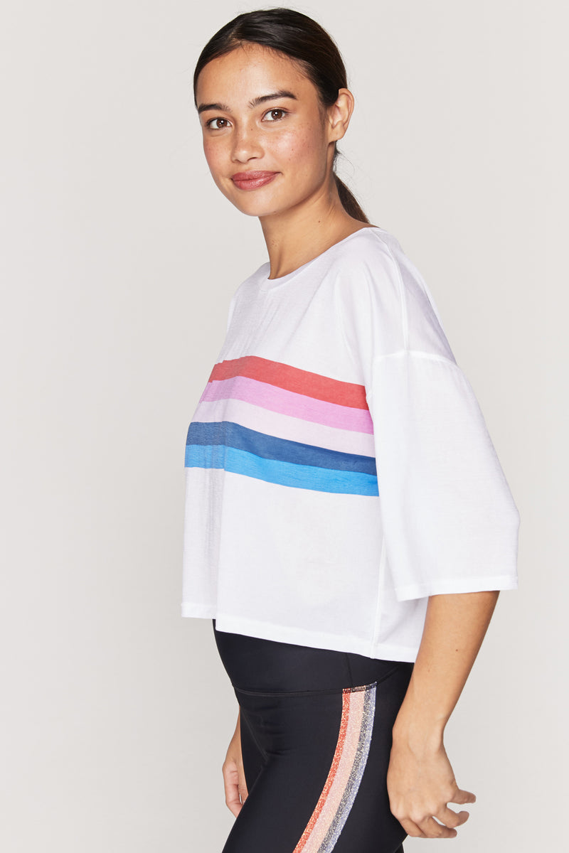 RAINBOW ACTIVE SESSIONS TEE