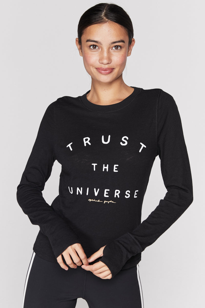 TRUST THE UNIVERSE ACTIVE TOP