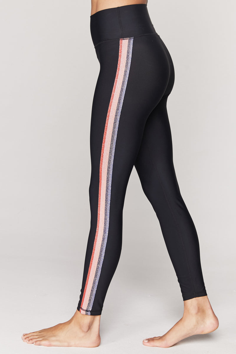 Sparkle High Waist 7/8 Compressive Legging