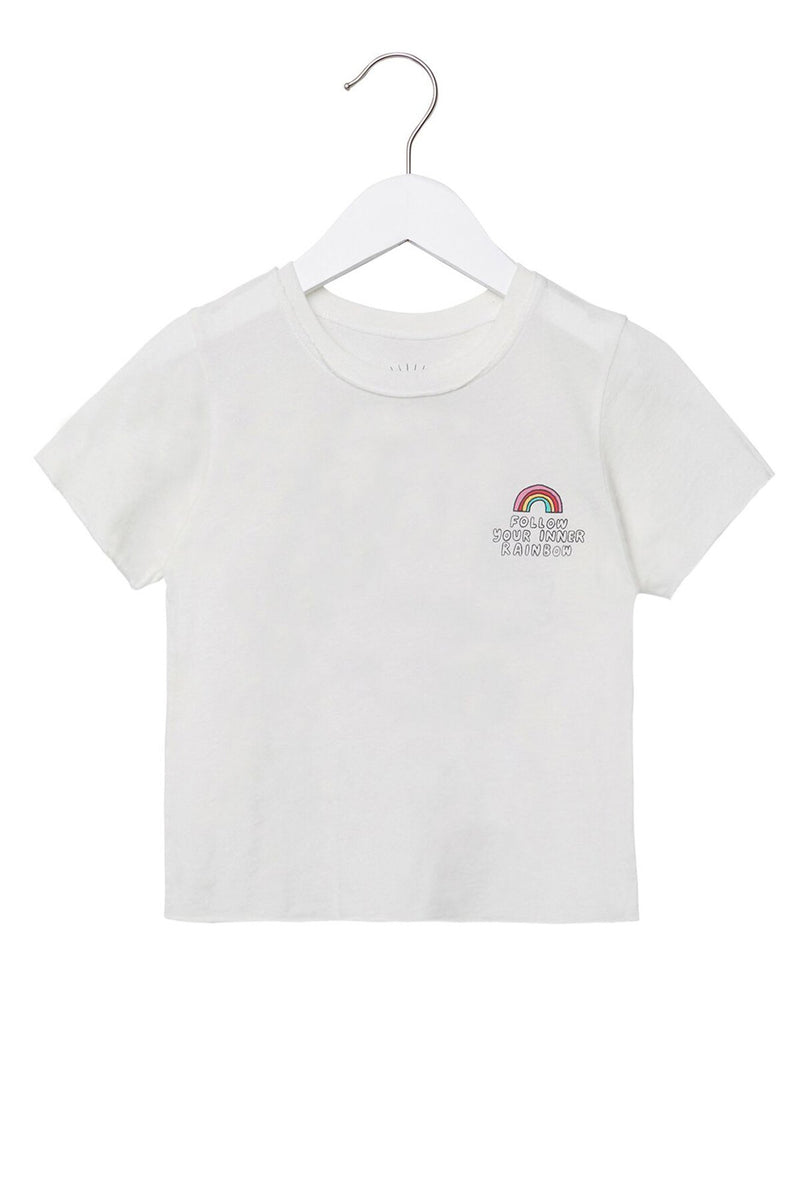 FOLLOW YOUR INNER RAINBOW KIDS TEE