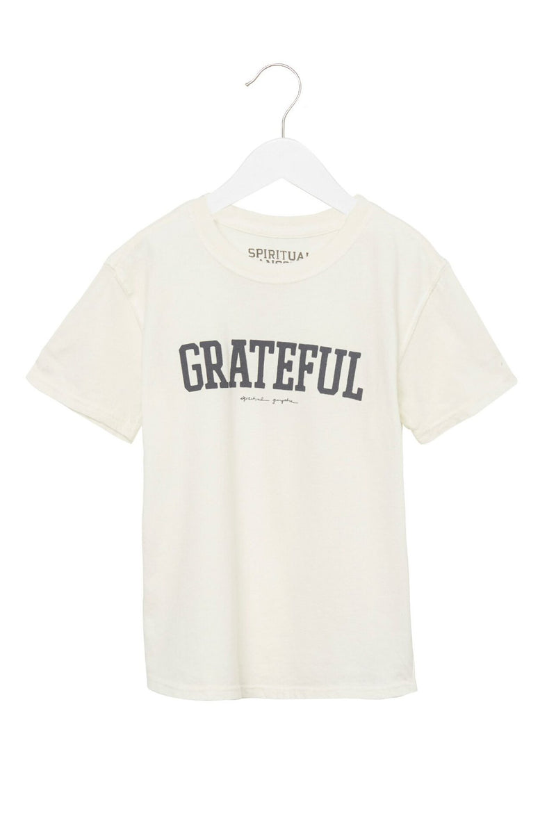 GRATEFUL KIDS TEE WHITE
