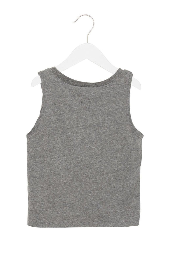 LOVE MORE RAW EDGE KIDS TANK - Spiritual Gangster