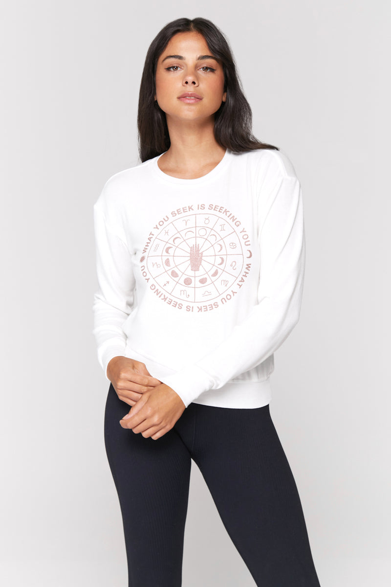 What You Seek Savasana Pullover