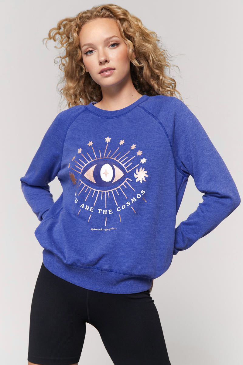 You are the Cosmos Old School Pullover