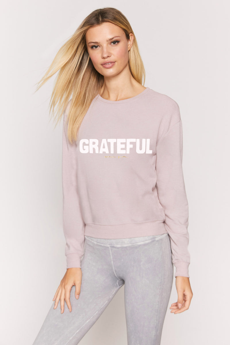 Grateful Savasana Pullover