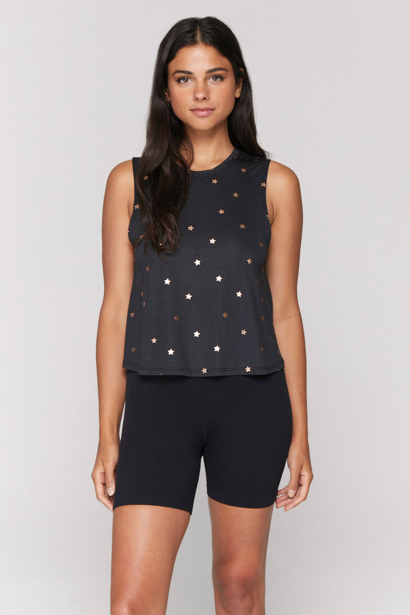 Cosmos Active Crop Tank