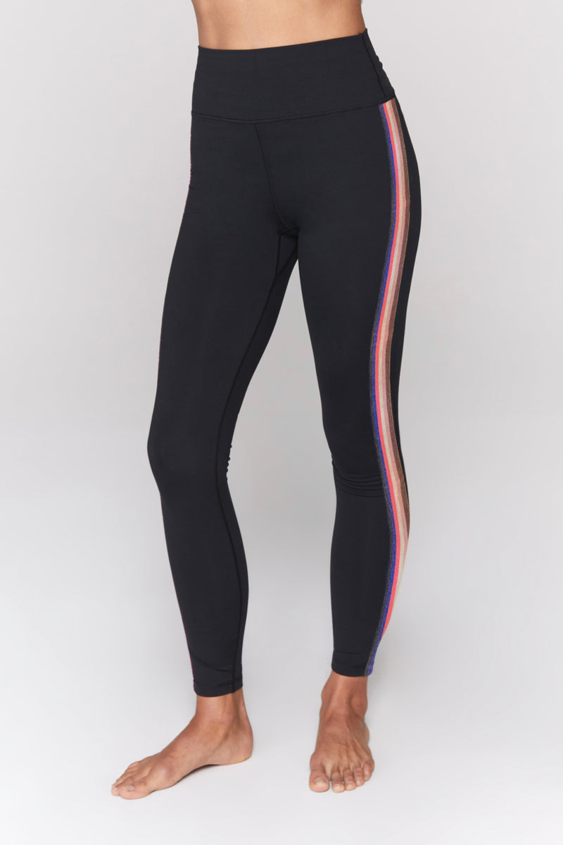 Essential High Waist Stripe Legging