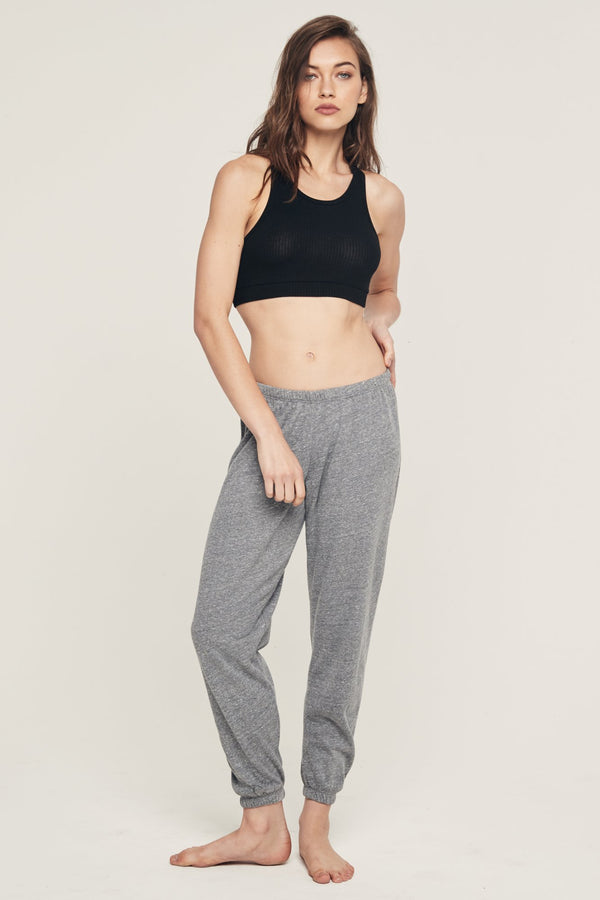 SG VARSITY FAVE SWEATPANT HEATHER GREY - Spiritual Gangster