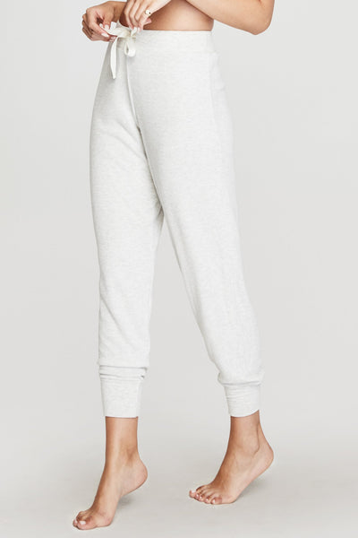 BALLET RIB WARM UP PANT HEATHER GREY - Spiritual Gangster