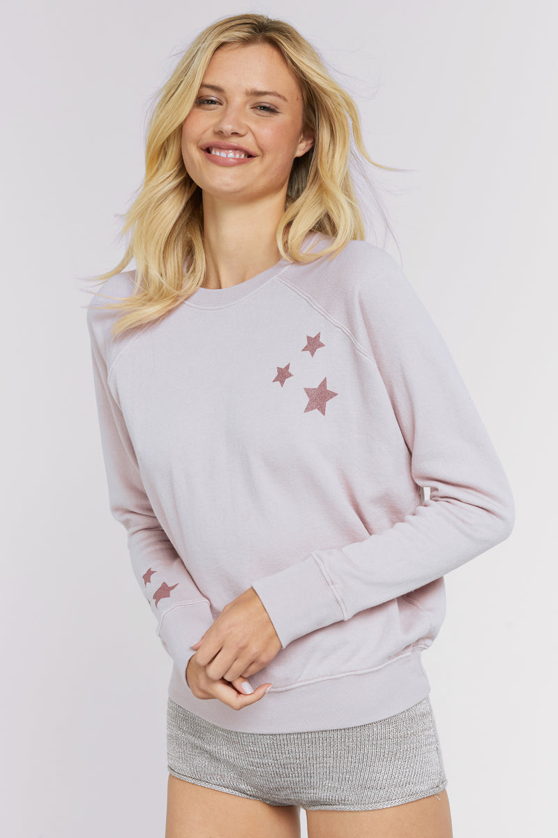 WE ARE MADE OF STARS CREW SWEATSHIRT