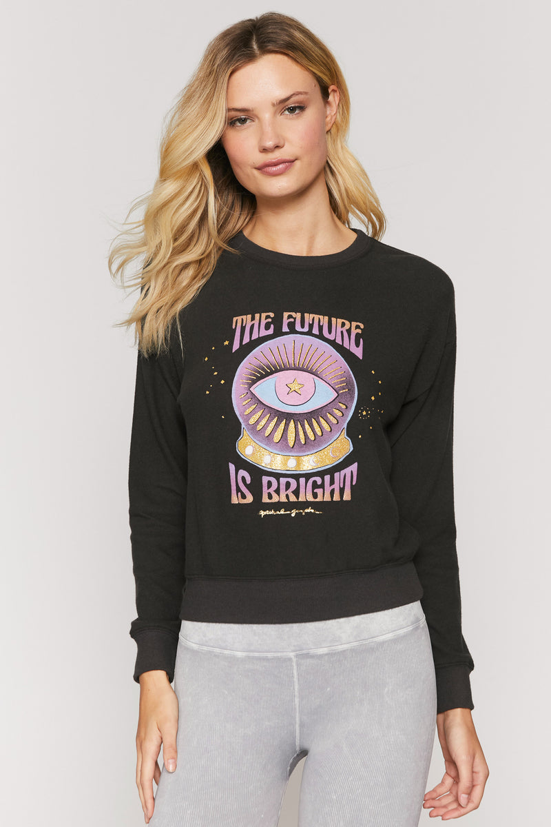 Future Is Bright Malibu Pullover