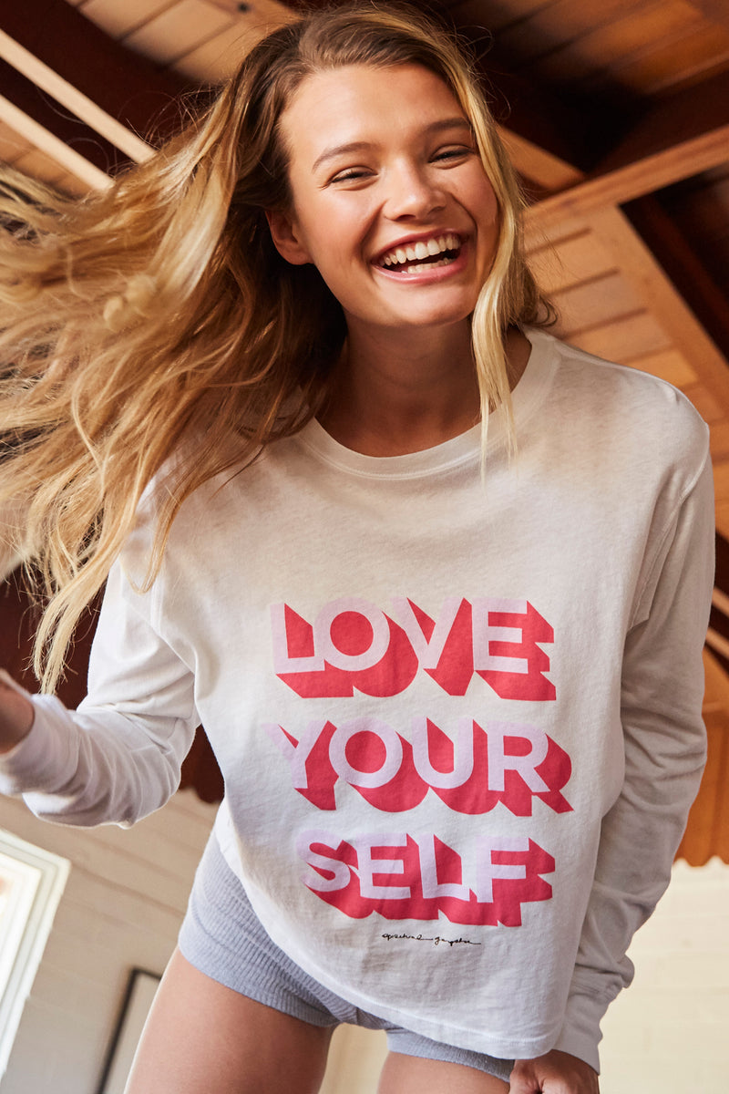 Love Yourself Long Sleeve Top