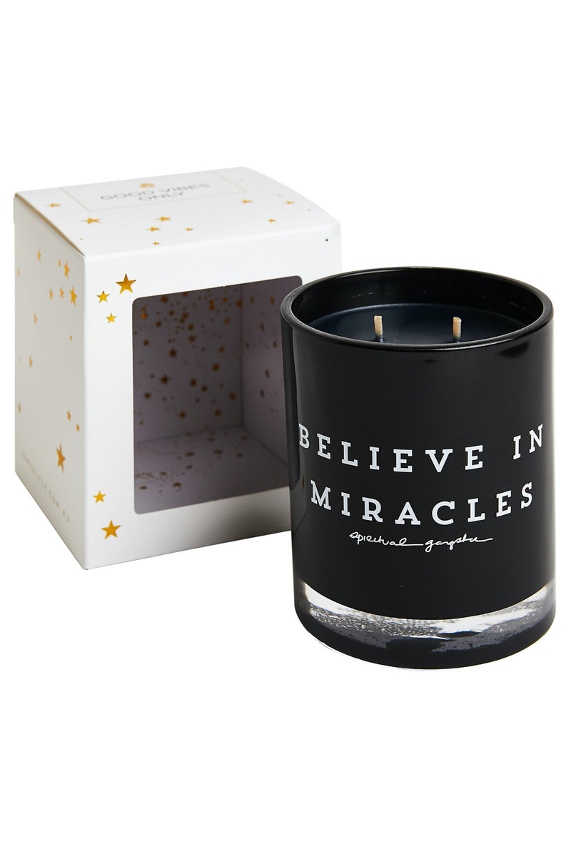 Believe in Miracles Candle