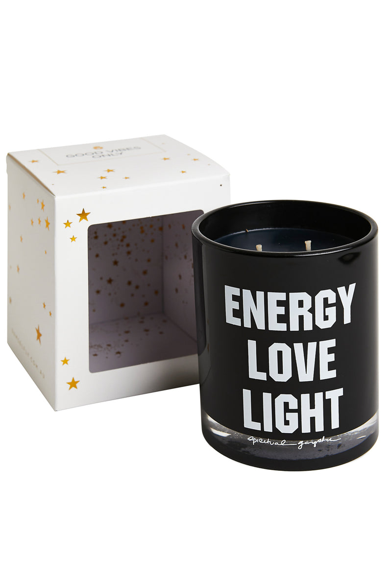Energy Love Light Candle