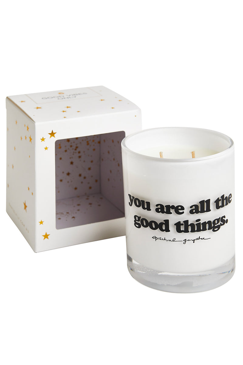 You Are All the Good Things Candle