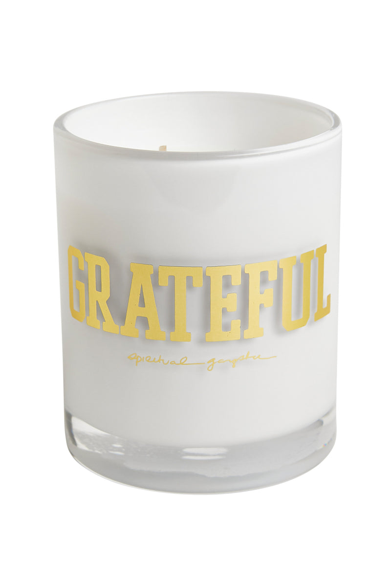 GRATEFUL CANDLE WHITE