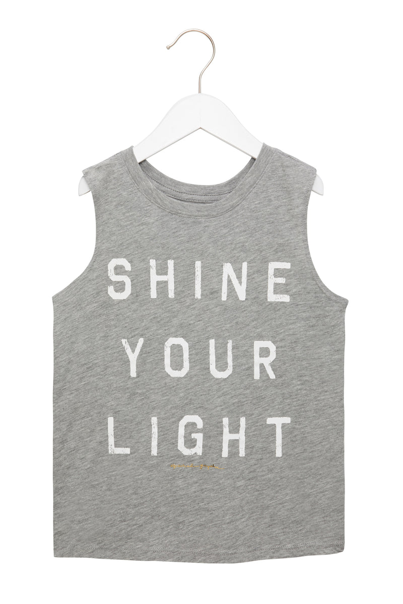 SHINE YOUR LIGHT KIDS TANK