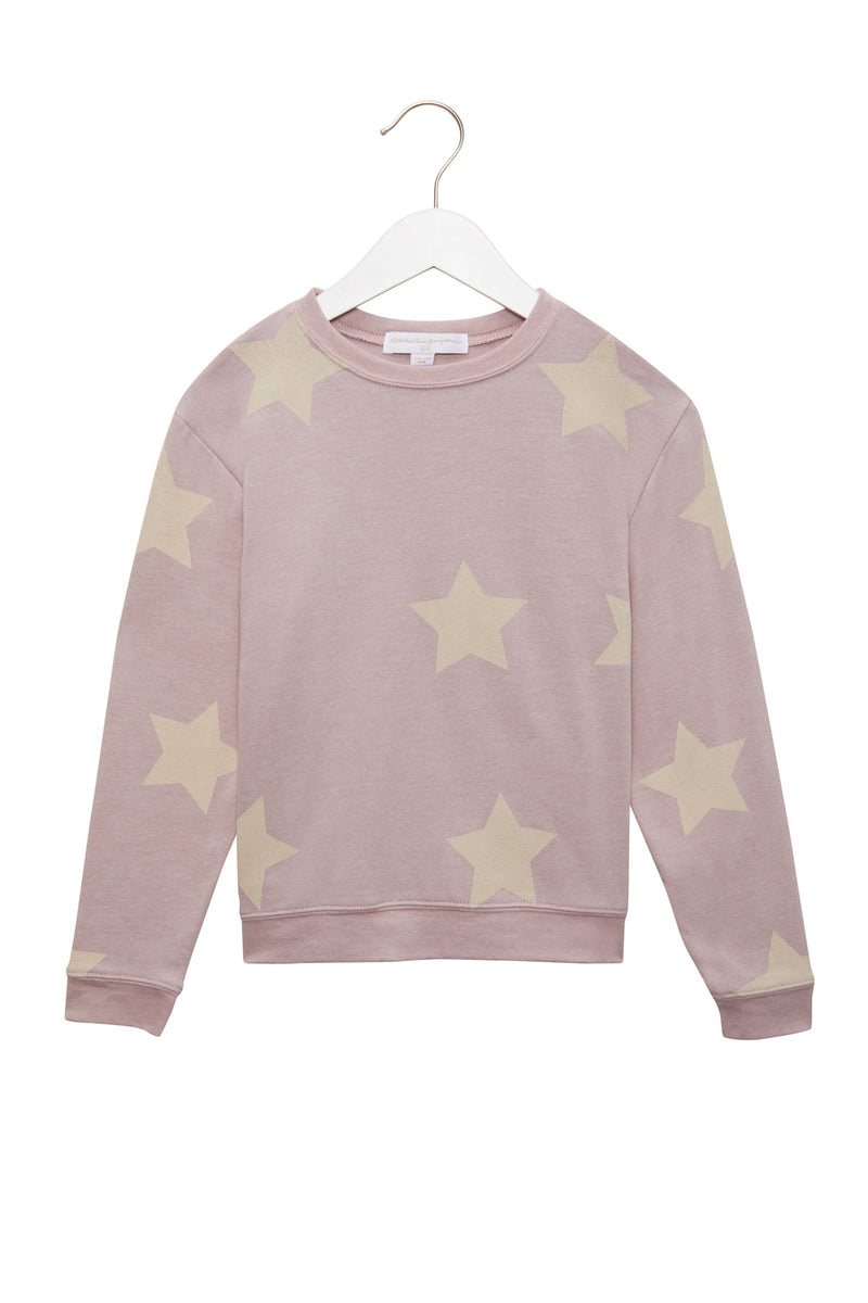 Stars Kids Crew Neck Savasana