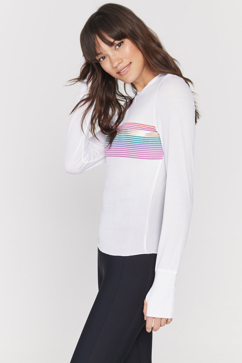 Striped Active Top
