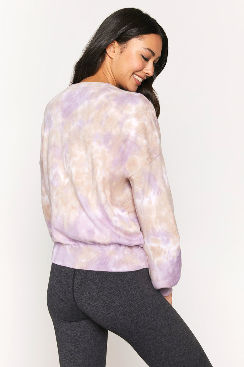 Cloud Dye Block Party Sweater