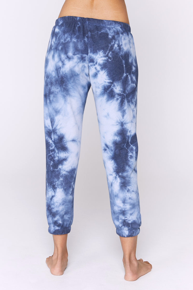 Indigo Tie Dye Perfect Sweatpant