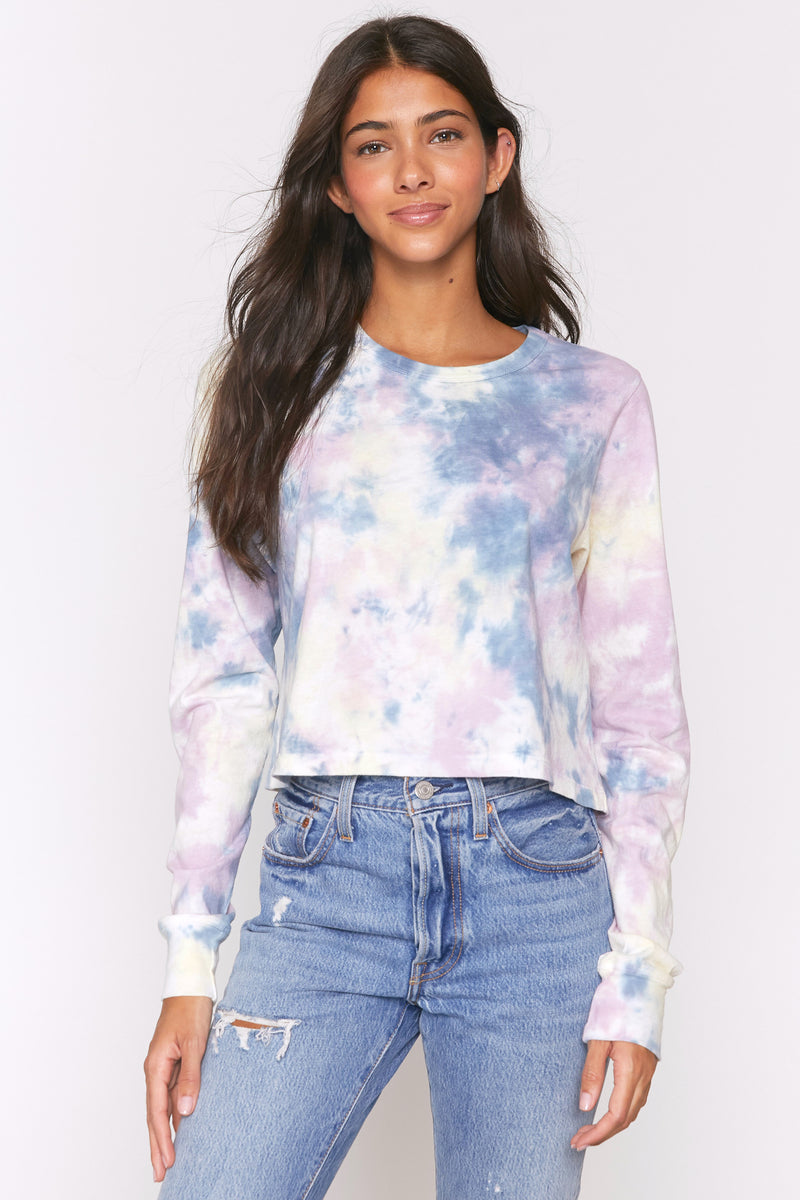 Tie Dye Fiona Long Sleeve Tee