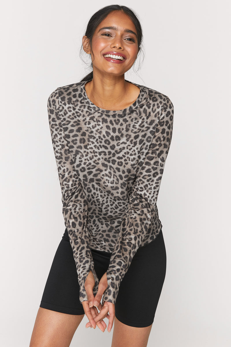 Cheetah Active Long Sleeve Tee