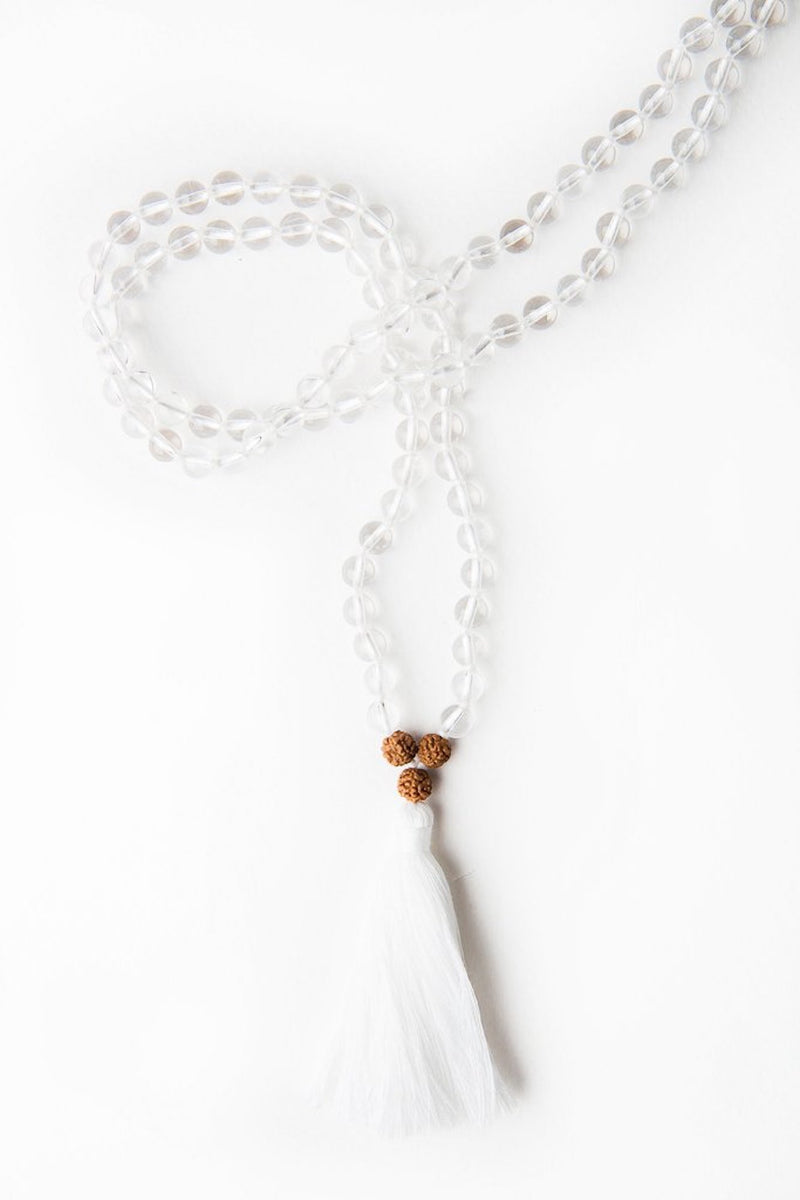 I Am Clear Mala Necklace