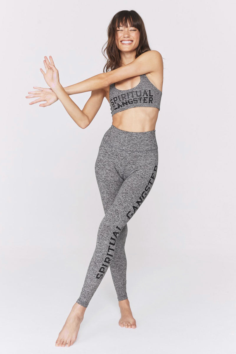 Spiritual Gangster  High Waist 7/8 Legging
