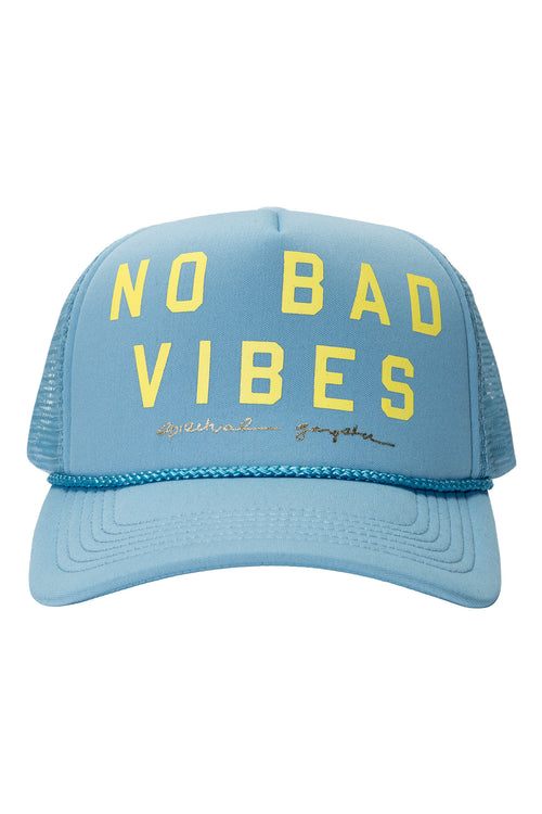 No Bad Vibes Trucker Hat - Spiritual Gangster - 1