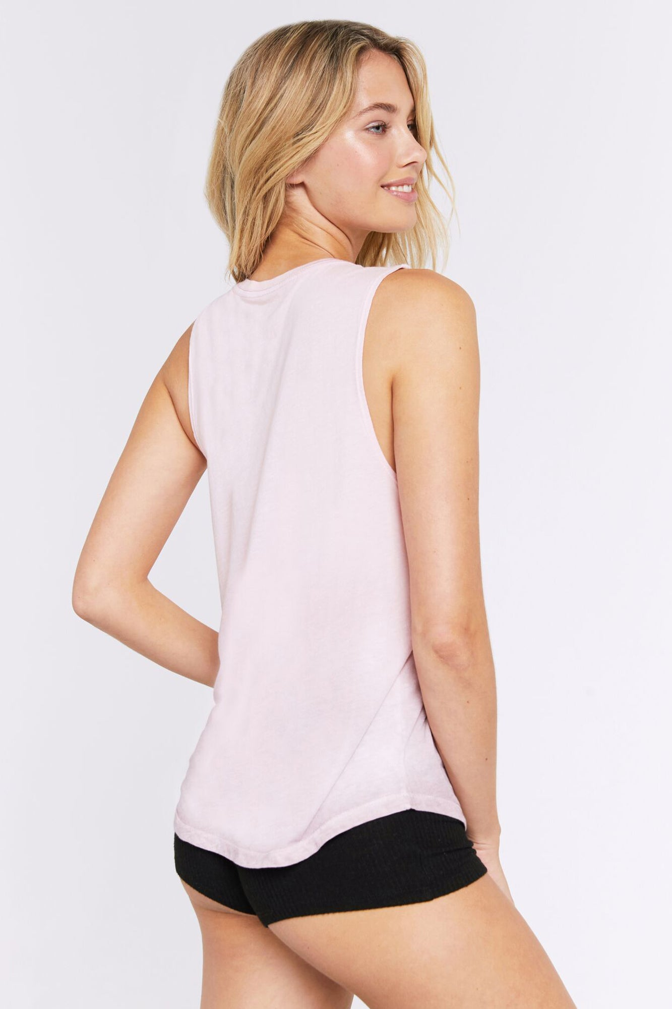 YOU HAD ME AT NAMASTE MUSCLE TANK