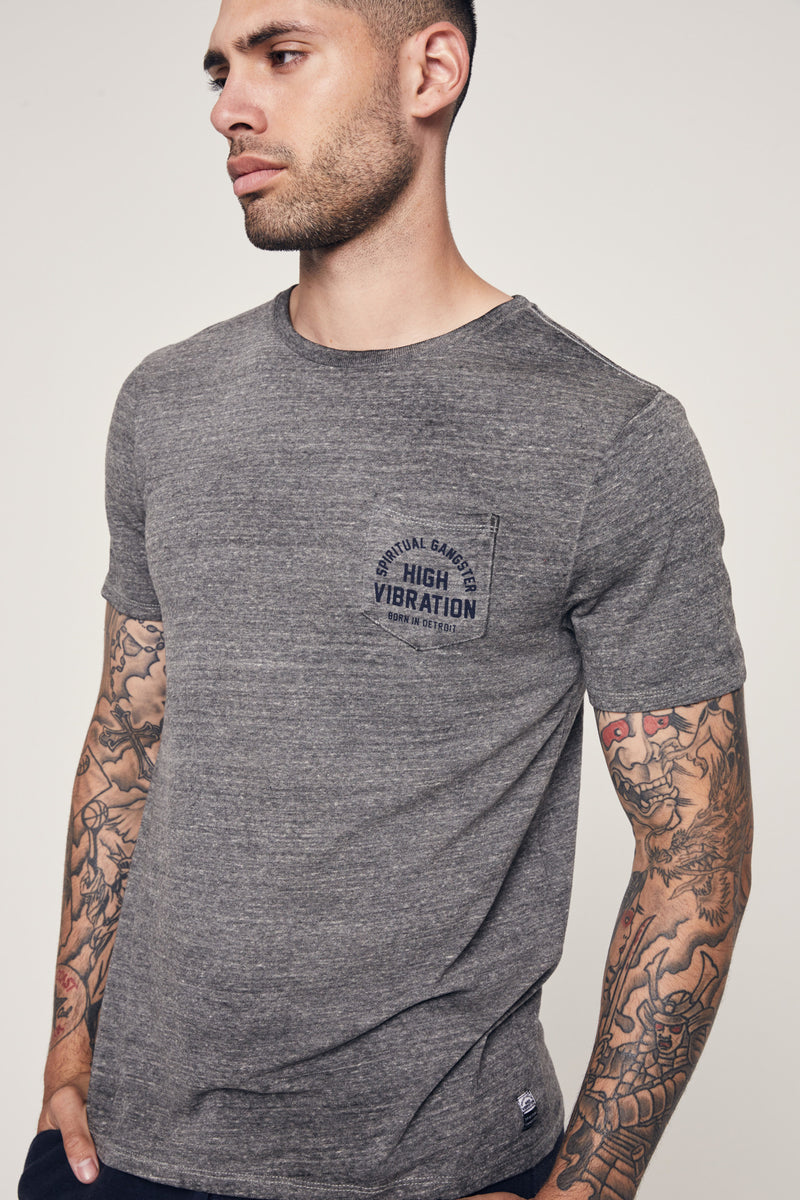 Born in Detroit Pocket Tee