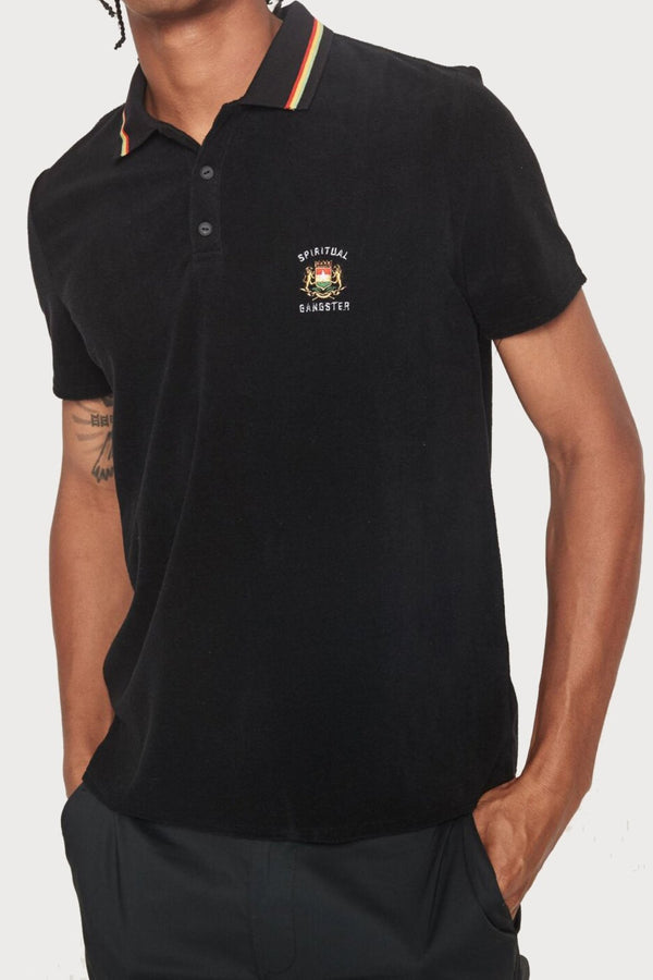 LIVE UP TERRY CLOTH POLO - Spiritual Gangster
