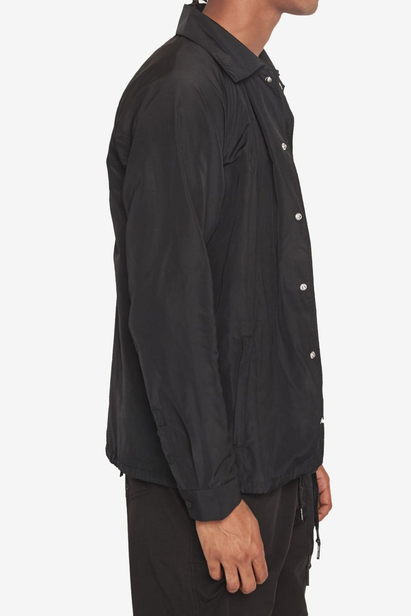 FREQUENCY COACHES JACKET BLACK