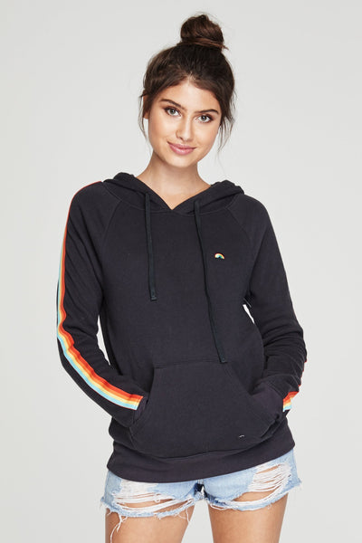 HAPPY AND FREE RAINBOW PULLOVER HOODIE - Spiritual Gangster