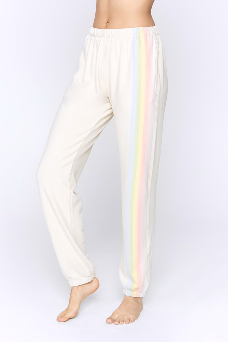 Striped Malibu Nights Hacci Sweatpant