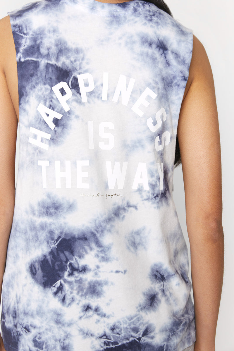 Happiness Is the Way Rocker Tank
