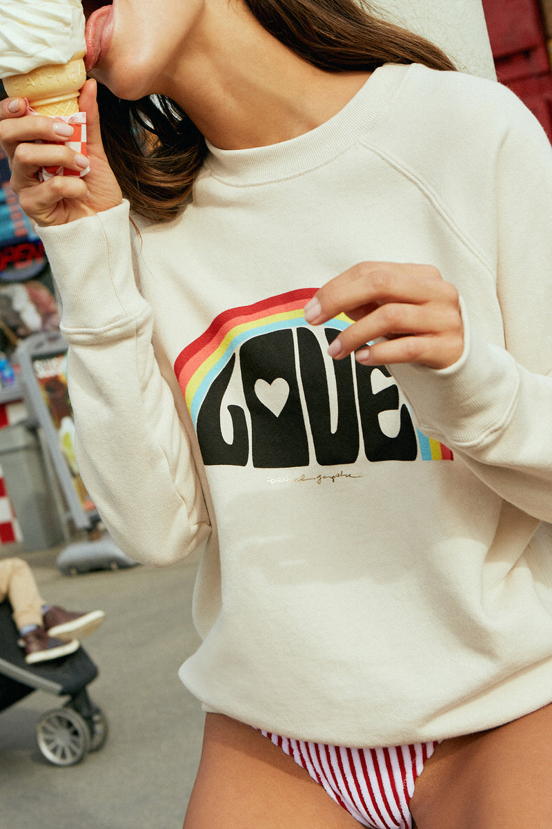 Love Rainbow Classic Sweatshirt