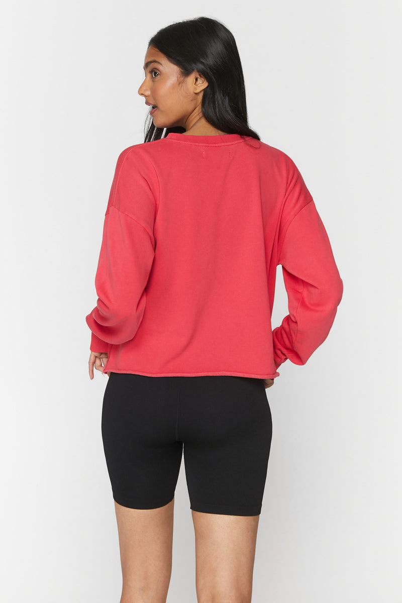 Grateful Mazzy Crop Sweatshirt