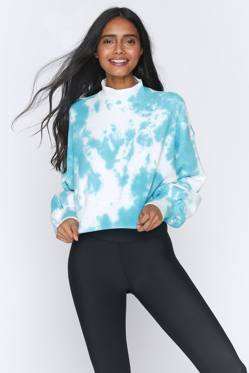 Blake Mock Neck Sweatshirt