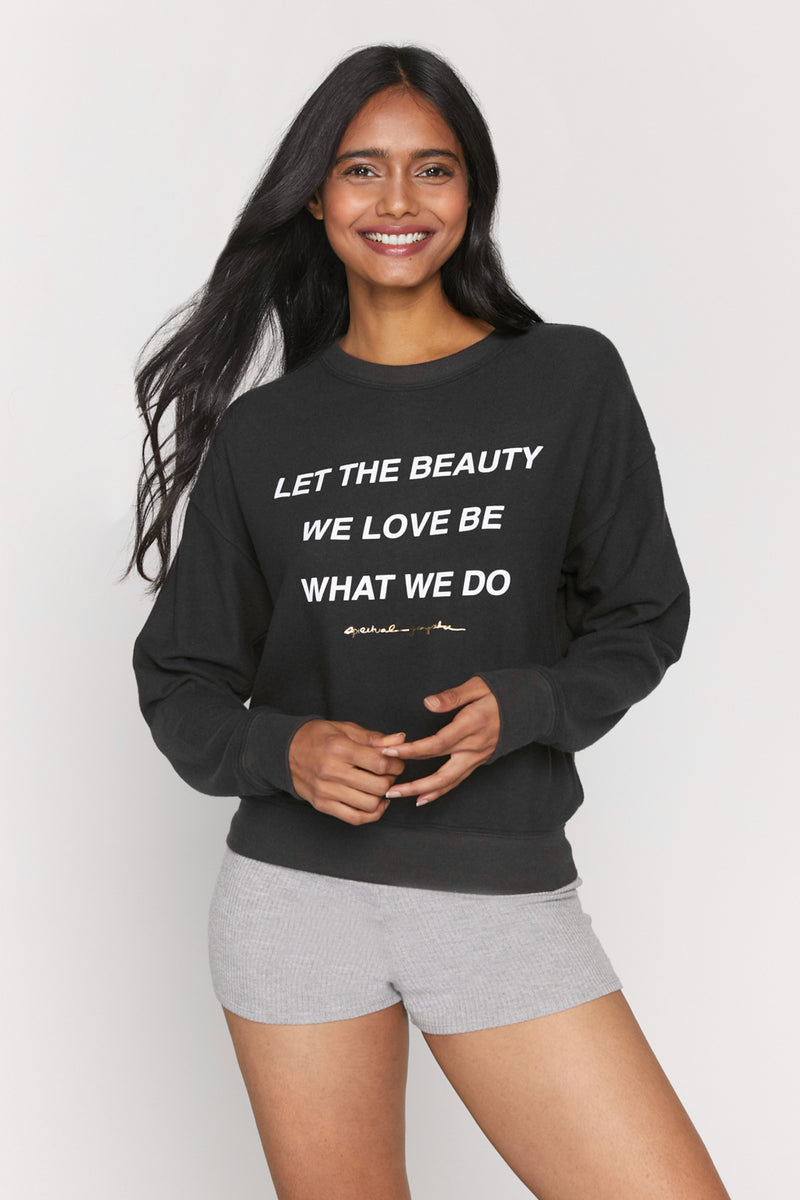 The Beauty We Love Malibu Crewneck