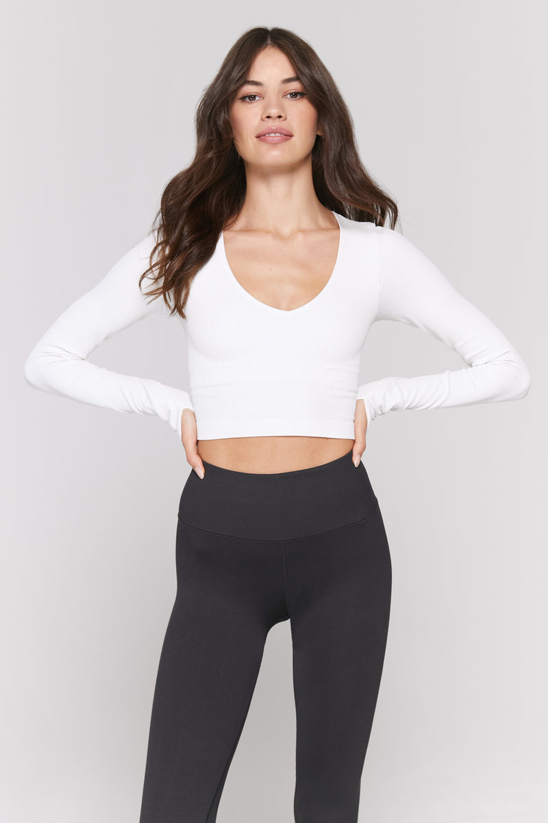 Metta Long Sleeve Top Stone