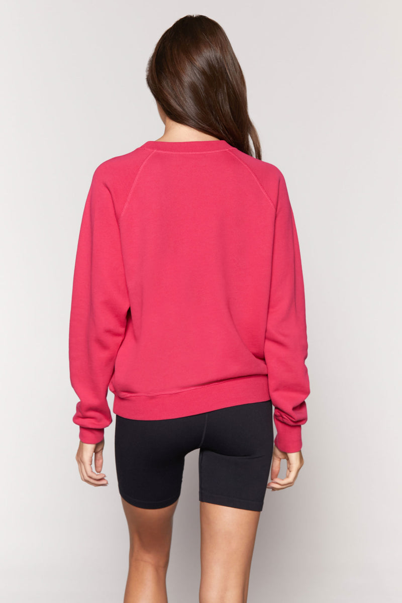 Love Bridget Raglan Sweatshirt