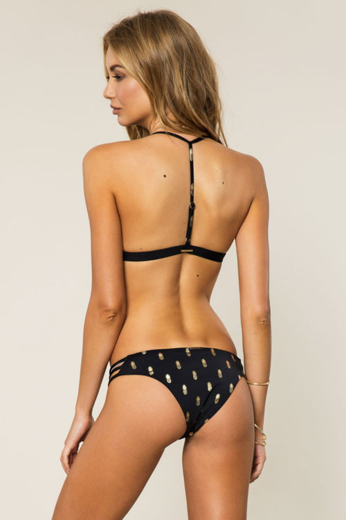 Pineapple Strappy Swim Bottom - Spiritual Gangster