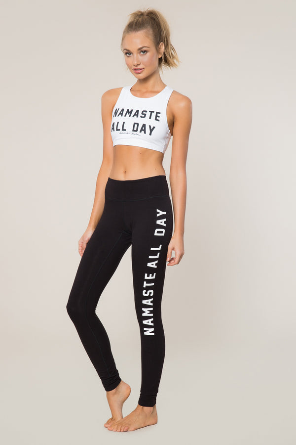Namaste All Day Practice Legging - Spiritual Gangster